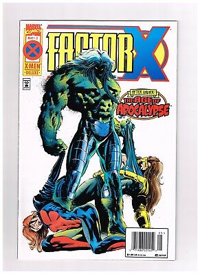 1995 Factor X The Age of Apocalypse May Vol 1 #3 Marvel Comic Bag Board NMINT