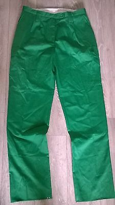 Ladies green work ambulance etc combat trousers Size 14-16  NEW extra long leg