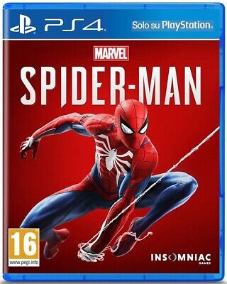 Marvel Spider Man Ps4 Gioco Italiano Videogioco Play Station 4 Spiderman 2018