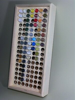Paint or Ink Storage Rack Stand Holds 119 Game Color Bottles Vallejo Andrea