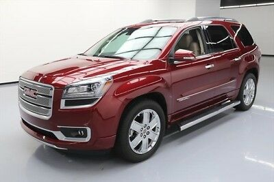 GMC Acadia Denali Texas Direct Auto 2015 Denali Used 3.6L V6 24V Automatic FWD SUV Moonroof Bose
