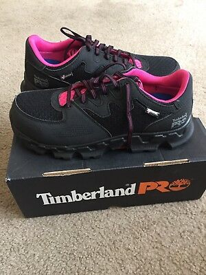 771e239d362 TIMBERLAND-PRO-POWERTRAIN WOMEN'S ALLOY Safety Toe ESD SD Work Shoes 10M