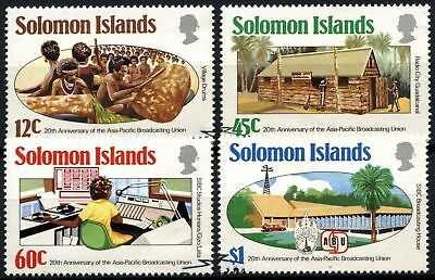 Solomon Islands 1984 SG#524-7 Broadcasting Union Used Set #D71873