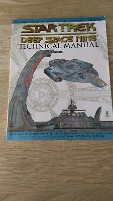 Star Trek Deep Space 9 Technical Manual. Used, good condition.