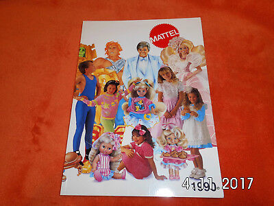 Mattel  Spielzeug Katalog Prospekt 1990 Ausgabe  Polly Pocket Hot Wells Barbie