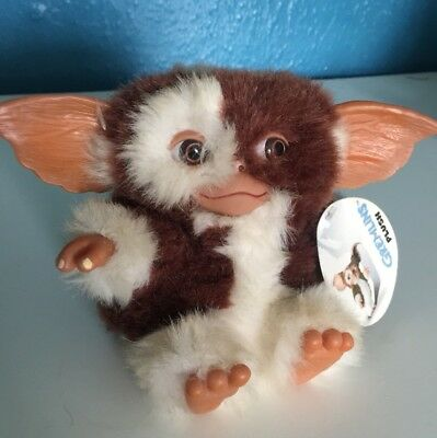 Gremlins Gizmo Neca Plush Soft Toy With Label Vintage