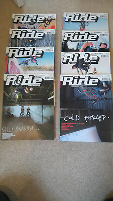 Ride UK BMX Magazine 8 issues various numbers 56-74 (2002-2004)