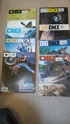 Dig BMX Magazine 8 issues various numbers 13-35 (2000-2004)