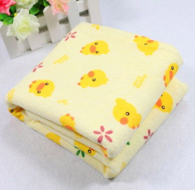Newborn Infant Travel Urine Mat Baby Home Changing Pad Waterproof Yellow Duck