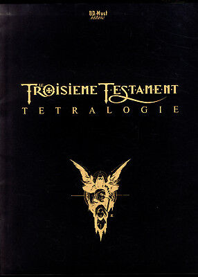 Portfolio Troisieme Testament Tetralogy Alex Alice TL 435 Ex N° + S Comics Must