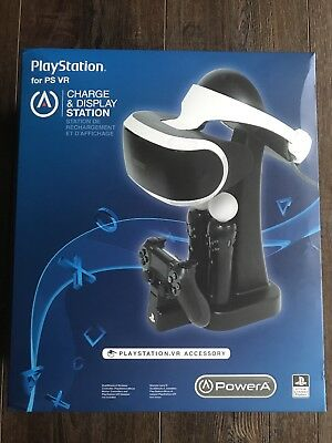 PowerA Charge and Display Station for PlayStation VR Black PS4