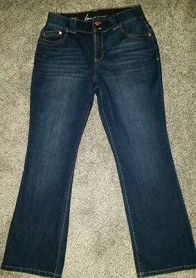 Lane Bryant Jeans Sz 14R Tighter Tummy Technology Bootcut Stretch NWOT