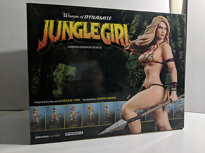 Women of Dynamite Jungle Girl Limited Edition Statue Frank Cho 38/99 Rare