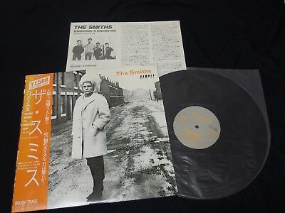 "The Smiths - Heaven Knows I'm Miserable Japan 12"" Promo Vinyl w/OBI"