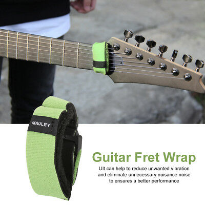 synthetic fabric guitar bass fret string mute dampener muting fretboard wrap eur 3 10. Black Bedroom Furniture Sets. Home Design Ideas