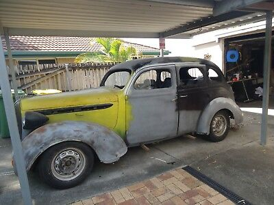 1938 plymouth sedan hot rod project / dodge / chrysler