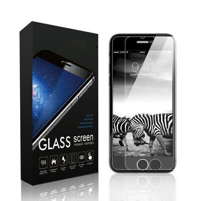 Premium Screen Protector Tempered Glass Protective Film Guard For iPhone X 8 7 6