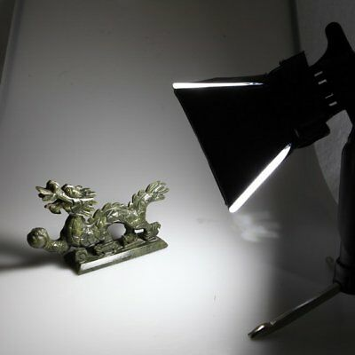5500k Mini Portable Foldable Photo Studio Light Lamp Bulb Tripod Stand + Softbox