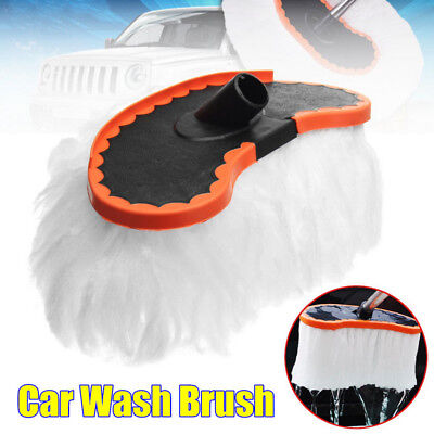 Car Adjustable Telescopic Cleaning Brush Milk Silk Boat Vehicle Wash Clean Care