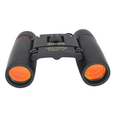 Outdoor Compact Binoculars 30×60 Zoom Foldable Telescope Day Night Vision