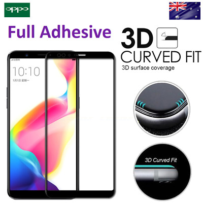 FULL COVER CURVED 3D Tempered Glass Screen Protector OPPO F1S R9S/R11/R11S/