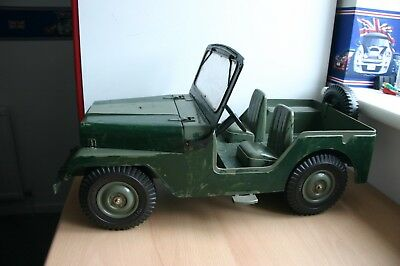 Vintage Action Man Spare Wheel for Marx Jeep 6.85 X 15