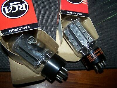 an RCA black plate 6L6GC and a GE grey plate.....Matching ....1pair