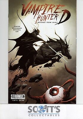 Vampire Hunter D Message From Mars #1 New Jae Lee (Bagged & Boarded)