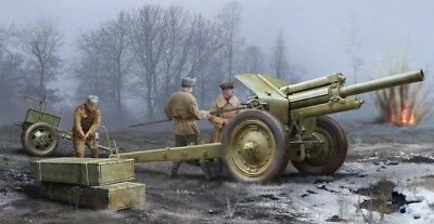 Soviet 122mm Howitzer 1938 M-30 (early) - Trumpeter 1/35