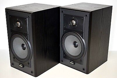 Celestion 5 Hi Fi Stereo Bookshelf Speakers Matched Pair Made In England
