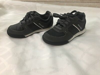 American Eagle Toddler boys Sneakers tennis Shoes Size 11 Grey