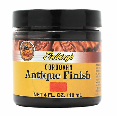 Fiebing's Antique Finish Cordovan Paste 4 oz. 21980-06 Leather Dye