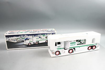 New 2006 Hess Toy Truck And Helicopter Head Tail Lights Ramp Original Box