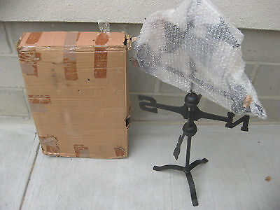 New Old Stock Horse Table Top/Rooftop Weathervane Harbor Freight # 42512