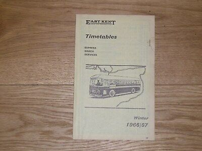 East kent road car timetable map 1 29 for 99 bus table