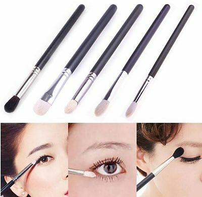 Pro Makeup Tool Blending Eyeshadow Powder Eye Shader Cosmetic Brush Set