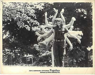 Together Sean S. Cunningham Wes Craven 1971 8x10 Photo Lobby Card Sexploitation