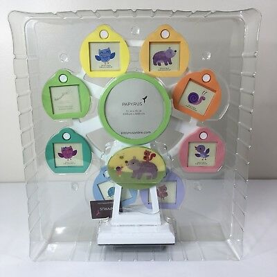 Papyrus Photo Frames Musical Lullaby Ferris Wheel Picture Frame Holds 7 Pictures