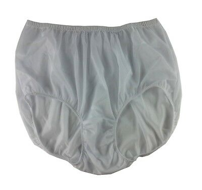 17 color VTG Knickers Sissy Nylon Double Layer New Crotch Classic Briefs Panties