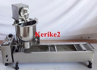 Commercial Automatic Donut Fryer Maker Machine w/ Molds (cake, minis, + recipes)