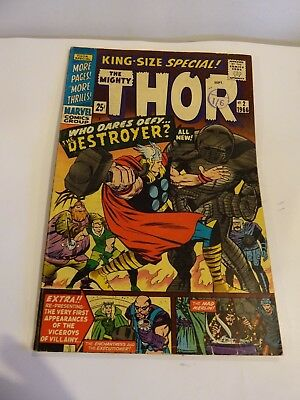 1966: THOR King-size special. #2 Marvel. 6.5