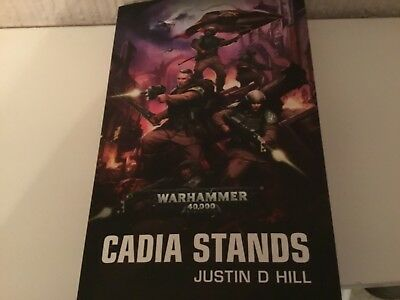 warhammer 40k cadia stands book