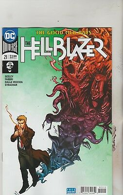 Dc Comics Hellblazer #21 June 2018 1St Print Nm