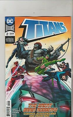 Dc Comics Titans Annual #2 June 2018 1St Print Nm