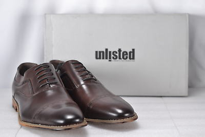 Men's Kenneth Cole Unlisted Stack up Oxfords, Brown