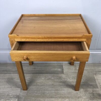 Solid Oak Bedside, Side Table With Drawer