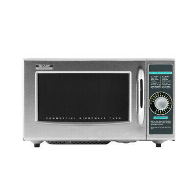Sharp R-21LCFS 1000 Watt Microwave Oven with 1.0 Cu. Ft.
