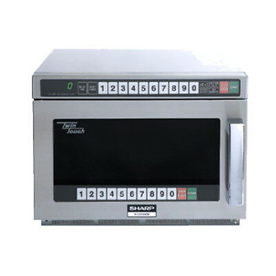 Sharp R-CD1200M 1200 Watt TwinTouch Commercial Microwave Oven