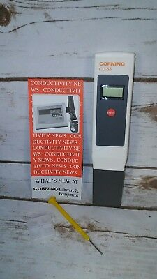 CORNING CONDUCTIVITY METER - HARD TO FIND - DISCONTINUED ITEM cd-55