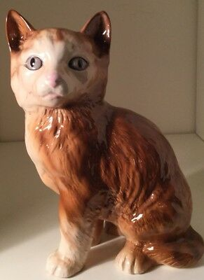 "Vintage Melba Ware 7.5"" Ceramic Cat/kitten ,no Damage"